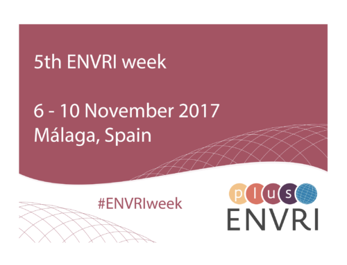 Registration to 5th ENVRI WEEK in Malaga is now open