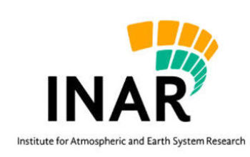 Four open Assistant Professor / Professor positions in Institute for Atmospheric and Earth System Research (INAR)