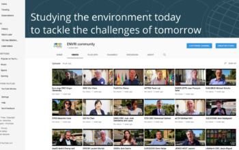 ENVRI community goes YouTube